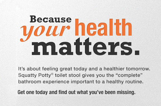 Because your health matters