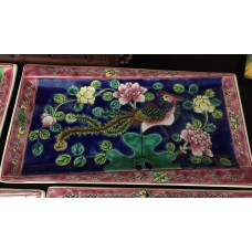 Peranakan Rectangular Tray