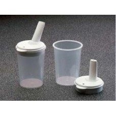 Feeding Cup with Vertical Spout Lid 8mm (2 per pack)
