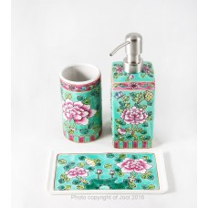 Peranakan Bathroom Set (3 piece)