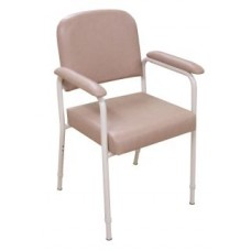 Utility Chair Adjustable Seat Height (Vanilla Champagne)
