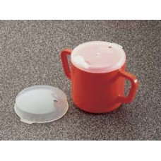 Homecraft Two-handled Mug and Lids (2 per pack)